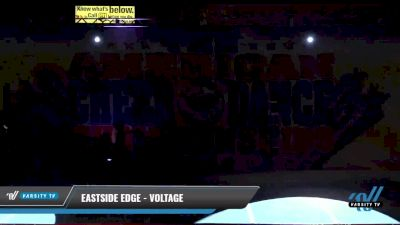 Eastside Edge - Voltage [2021 L2 Youth - D2 - Small Day 2] 2021 The American Celebration DI & DII