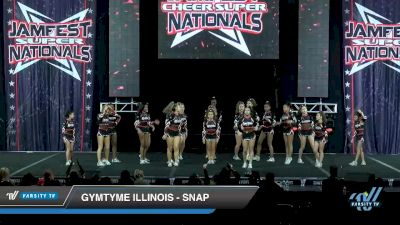 GymTyme Illinois - Snap [2020 L4 Junior - Small - B Day 2] 2020 JAMfest Cheer Super Nationals