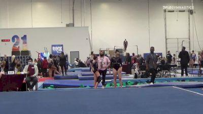 Mallory Reyes - Floor, Precizion 509 - 2021 Region 3 Women's Championships
