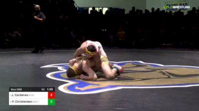 195 lbs Final - Jacob Cardenas, Bergen Catholic (NJ) vs Pete Christensen, Montini Catholic (IL)