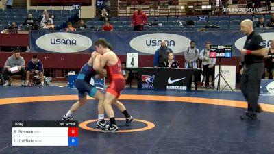 60 kg Consolation - Sean Sesnan, NMU-OTS vs Dalton Duffield, New York Athletic Club