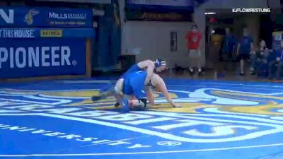 184 lbs Jacob Schoon, SDSU vs Brock Jennings, Air Force