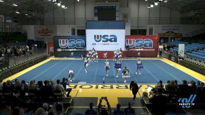 Clovis High School - Clovis High School [2021 Varsity Show Cheer Intermediate Day 1] 2021 USA Reach the Beach Spirit Competition