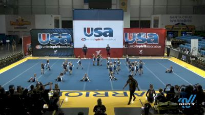 NorCal Cheer - Golden Poppies [2021 L1 Performance Recreation - 6 and Younger (NON) Day 1] 2021 USA Reach the Beach Spirit Competition