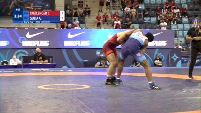 65 kg 1/4 Final - Jadon William SKELLENGER, United States vs Ankit Gulia, India