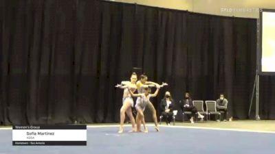 Sofia Martinez - Women's Group, AGSA - 2021 USA Gymnastics Championships