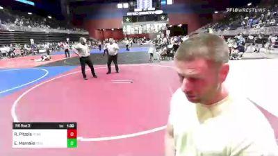 53 lbs Rr Rnd 3 - Ryan Pitzele, Bear Cave vs Easton Mamalis, Green River Grapplers
