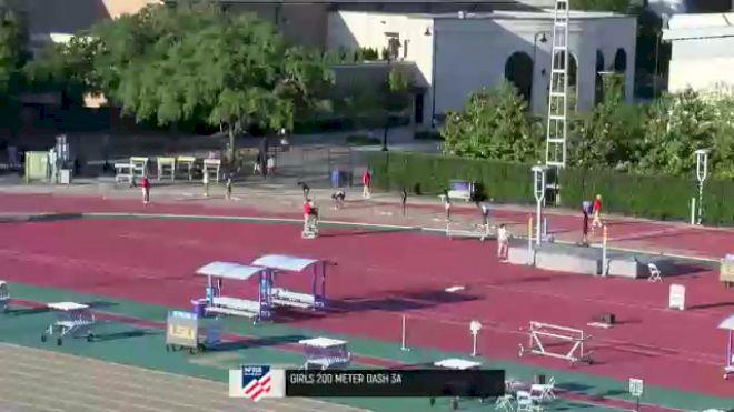 High School Girls' 200m 3A, Finals 1