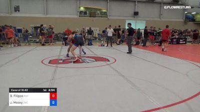 70 kg Consi Of 16 #2 - Brik Filippo, Bronchos Wrestling Club vs Justin Mccoy, Cavalier Wrestling Club