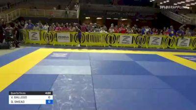 VALERIA GALLEGO vs DAELYN SMEAD 2021 Pan Kids Jiu-Jitsu IBJJF Championship