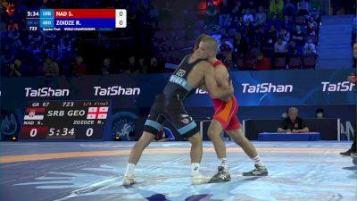 67 kg 1/4 Final - Sebastian Nad, Serbia vs Ramaz Zoidze, Georgia