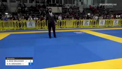 SANTOS RENE BRUCKNER RIVERA vs DUSTIN M. ORDINARIO 2021 Pan IBJJF Jiu-Jitsu No-Gi Championship
