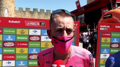 Hugh Carthy Struggled In Vuelta Summit Finish