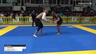EDGAR GAMBOA vs DAVID JAMES DOUILLETTE 2021 Pan IBJJF Jiu-Jitsu No-Gi Championship