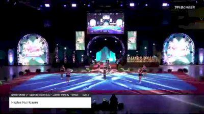 Naples Hurricanes [2020 Show Cheer 2- Open Division 13U - Junior Varsity - Small Day 2] 2020 Pop Warner National Cheer & Dance Championship