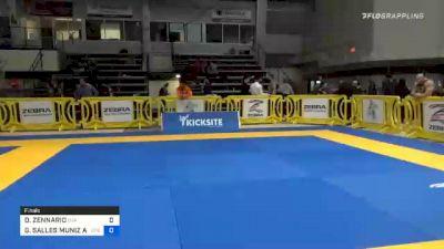 DAVID ZENNARIO vs GABRIEL SALLES MUNIZ ALMEIDA 2020 American National IBJJF Jiu-Jitsu Championship