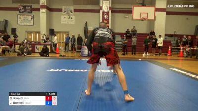 Dan Rinaldi vs Johnny Boswell 1st ADCC North American Trials