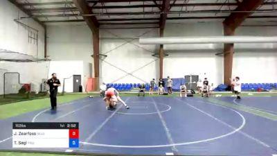 152 lbs Final - Jacob Zearfoss, Seagull Wrestling Club vs Tyler Sagi, Triumph