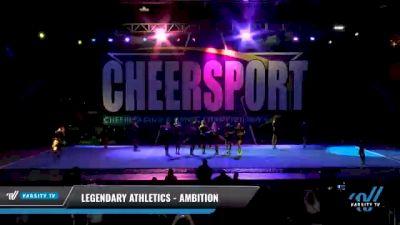 Legendary Athletics - Ambition [2021 L4 Senior Coed - D2 - Small Day 2] 2021 CHEERSPORT National Cheerleading Championship