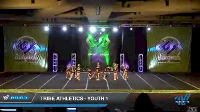 Tribe Athletics - Youth 1 [2021 L1 Youth - D2 Day 3] 2021 CSG Super Nationals DI & DII
