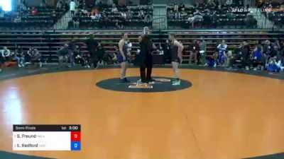 143 lbs Semifinal - Sydney Freund, Oklahoma City vs Erin Redford, Eastern Oregon