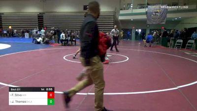Prelims - Fernie Silva, Indiana vs Justin Thomas, Oklahoma