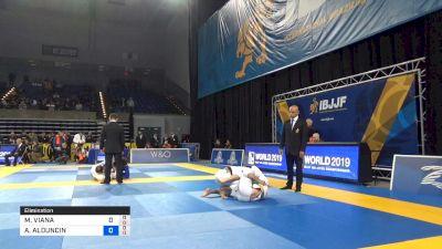 MATHEUS VIANA MAGALHÃES vs ALEXIS ALDUNCIN BARRAGAN 2019 Pan Jiu-Jitsu IBJJF Championship