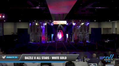 Dazzle U All Stars - White gold [2021 L1 Junior - Small Day 2] 2021 Queen of the Nile: Richmond