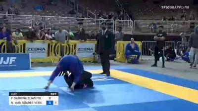 FERNANDA SABRINA ELIAS FIGUEIRA vs NATHALIE WAN SOARES VERAS RIBEIR 2021 Pan Jiu-Jitsu IBJJF Championship