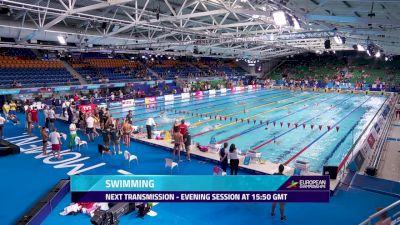 2018 European Swimming Championship Finals, Day 2