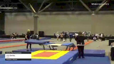 Lily Danley - Double Mini Trampoline, GSTA - 2021 USA Gymnastics Championships