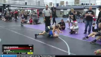 68 lbs Round 2 (4 Team) - Collin Bagdonas, Team Ohio vs AJ Kane, PA Aliiance Red