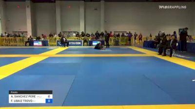 ALAN SANCHEZ PEREZ vs FELLIPE UBAIZ TROVO 2021 American National IBJJF Jiu-Jitsu Championship