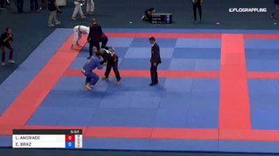 LEONARDO ANDRADE vs ELIOENAI BRAZ 2018 Abu Dhabi Grand Slam Rio De Janeiro