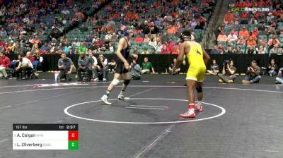 157 lbs Semifinal - Archie Colgan, Wyoming vs Luke Zilverberg, South Dakota State