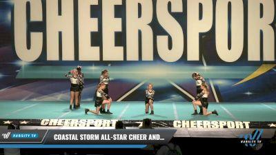 Coastal Storm All-Star Cheer and Dance - Fierce Katz [2021 L1 Youth - D2 Day 1] 2021 CHEERSPORT: Charlotte Grand Championship