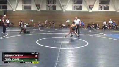 67 lbs Round 1 - Arto Khachatryan, Dethrone vs Zaiden Hoover, FordDynasty Wrestling Club