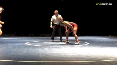 184 lbs Final - Charles Small, Northwest Kansas vs Marcus Placide, Iowa Lakes