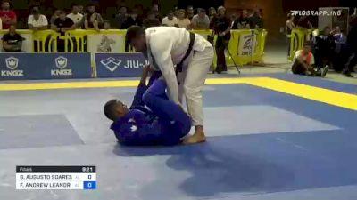 GUILHERME AUGUSTO SOARES SANTOS vs FELLIPE ANDREW LEANDRO SILVA 2021 Pan Jiu-Jitsu IBJJF Championship