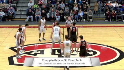 Champlin Park vs. St. Cloud Tech   12.30.17   2017 Granite City Classic