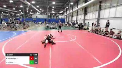125 lbs Rr Rnd 1 - Brayden Chandler, The Funky Singlets vs Dayvien Cuba, Elite Athletic Club