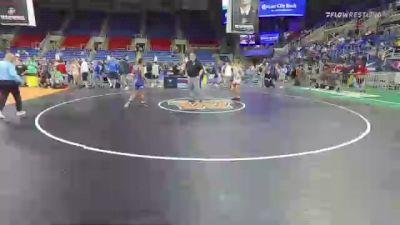 120 lbs Round Of 16 - Jett Strickenberger, Colorado vs Logan Valledor, California
