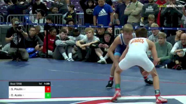 106 lbs Final - Stevo Poulin, Ny vs Drake Ayala, Ia