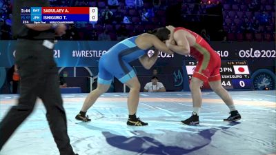 97 kg 1/8 Final - Abdulrashid Sadulaev, Russian Wrestling Federation vs Takashi Ishiguro, Japan