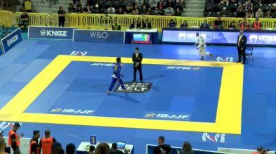 ISAQUE PAIVA vs SHANE HILL TAYLOR 2018 World IBJJF Jiu-Jitsu Championship