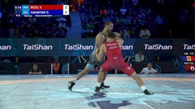 72 kg Repechage #2 - Valentin Petic, Moldova vs Gevorg Sahakyan, Poland