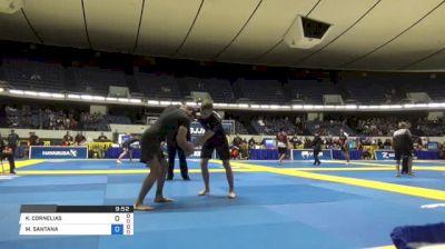 KEENAN CORNELIUS vs MURILO SANTANA World IBJJF Jiu-Jitsu No-Gi Championships