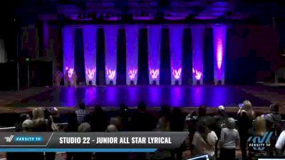 Studio 22 - Junior All Star Lyrical [2021 Junior - Contemporary/Lyrical Day 1] 2021 GLCC: The Showdown Grand Nationals