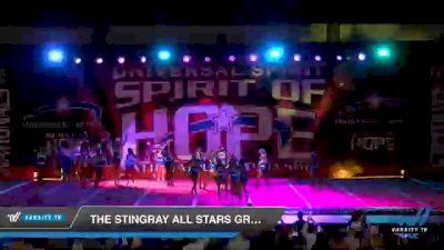 The Stingray Allstars - Marietta - Green [2021 Junior Coed 6 Day 1] 2021 Universal Spirit: Spirit of Hope National Championship