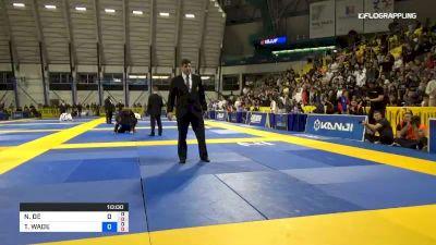 NICHOLAS DE BARCELLOS MEREGALI vs TANNER WADE RICE 2019 World Jiu-Jitsu IBJJF Championship